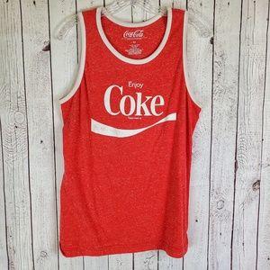🔥 Coca Cola Enjoy Coke Tank Medium